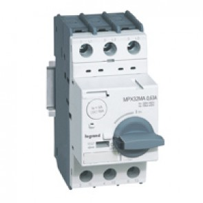 MPCB MPX³ 32 mA - magnetic - motor protection - 3P - 0.63 A - 100 kA