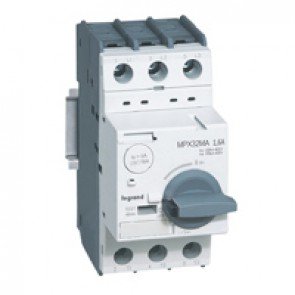 MPCB MPX³ 32 mA - magnetic - motor protection - 3P - 1.6 A - 100 kA
