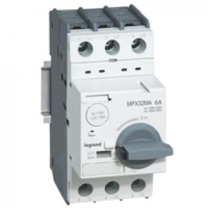 MPCB MPX³ 32 mA - magnetic - motor protection - 3P - 6 A - 100 kA