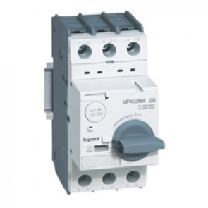 MPCB MPX³ 32 mA - magnetic - motor protection - 3P - 10 A - 100 kA