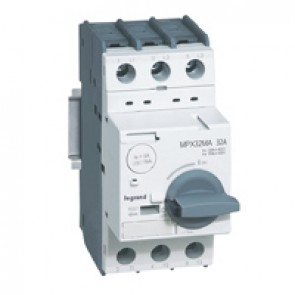 MPCB MPX³ 32 mA - magnetic - motor protection - 3P - 32 A - 50 kA