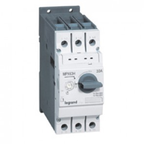 MPCB MPX³ 63H - thermal magnetic - motor protection - 3P - 10 A - 100 kA