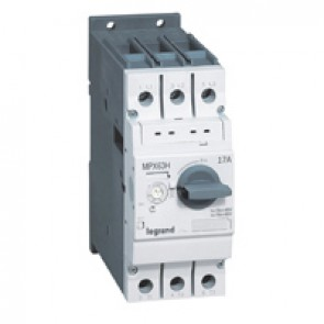 MPCB MPX³ 63H - thermal magnetic - motor protection - 3P - 17 A - 50 kA
