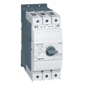 MPCB MPX³ 100H - thermal magnetic - motor protection - 3P - 40 A - 100 kA