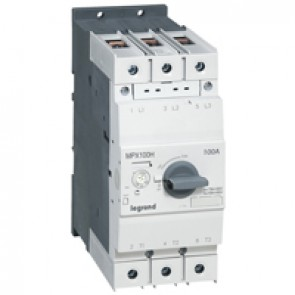 MPCB MPX³ 100H - thermal magnetic - motor protection - 3P - 100 A - 75 kA