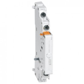 Auxiliary contacts MPX³ - 2-pole - side mounting - 1 NO + 1 NC