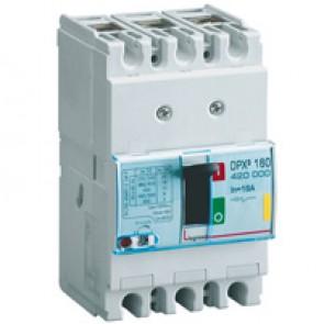 MCCB thermal magnetic - DPX³ 160 - Icu 16 kA 400 V~ - 3P - 16 A