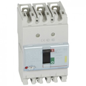 MCCB thermal magnetic - DPX³ 160 - Icu 16 kA 400 V~ - 3P - 25 A