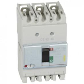 MCCB thermal magnetic - DPX³ 160 - Icu 16 kA 400 V~ - 3P - 80 A