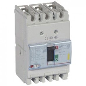 MCCB thermal magnetic - DPX³ 160 - Icu 16 kA 400 V~ - 3P - 160 A