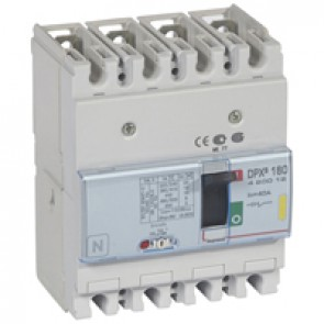 MCCB thermal magnetic - DPX³ 160 - Icu 16 kA 400 V~ - 4P - 40 A