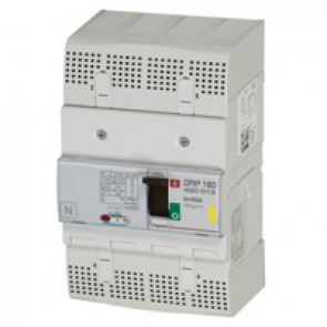 MCCB thermal magnetic - DPX³ 160 - Icu 16 kA 400 V~ - 4P - 63 A
