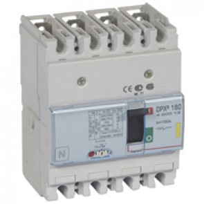 MCCB thermal magnetic - DPX³ 160 - Icu 16 kA 400 V~ - 4P - 100 A