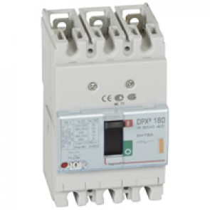 MCCB thermal magnetic - DPX³ 160 - Icu 25 kA 400 V~ - 3P - 16 A