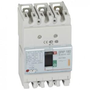 MCCB thermal magnetic - DPX³ 160 - Icu 25 kA 400 V~ - 3P - 16 A