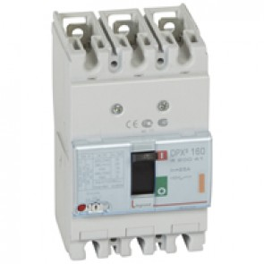 MCCB thermal magnetic - DPX³ 160 - Icu 25 kA 400 V~ - 3P - 25 A