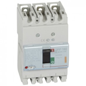 MCCB thermal magnetic - DPX³ 160 - Icu 25 kA 400 V~ - 3P - 40 A