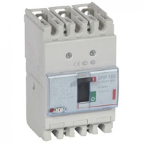 MCCB thermal magnetic - DPX³ 160 - Icu 36 kA 400 V~ - 3P - 63 A