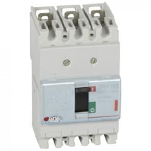 MCCB thermal magnetic - DPX³ 160 - Icu 36 kA 400 V~ - 3P - 125 A