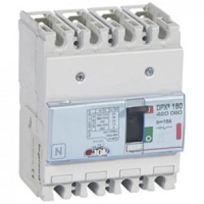MCCB thermal magnetic - DPX³ 160 - Icu 36 kA 400 V~ - 4P - 16 A