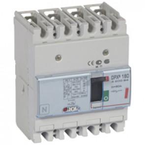 MCCB thermal magnetic - DPX³ 160 - Icu 36 kA 400 V~ - 4P - 80 A