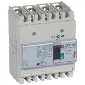 MCCB thermal magnetic - DPX³ 160 - Icu 36 kA 400 V~ - 4P - 100 A