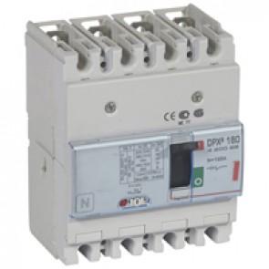 MCCB thermal magnetic - DPX³ 160 - Icu 36 kA 400 V~ - 4P - 125 A