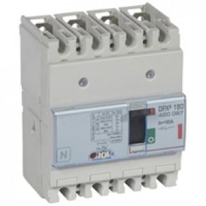 MCCB thermal magnetic - DPX³ 160 - Icu 36 kA 400 V~ - 4P - 160 A