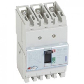 MCCB thermal magnetic - DPX³ 160 - Icu 50 kA 400 V~ - 3P - 25 A