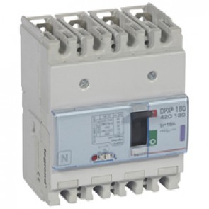 MCCB thermal magnetic - DPX³ 160 - Icu 50 kA 400 V~ - 4P - 16 A