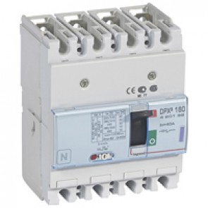 MCCB thermal magnetic - DPX³ 160 - Icu 50 kA 400 V~ - 4P - 40 A