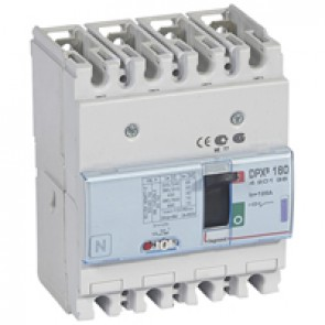 MCCB thermal magnetic - DPX³ 160 - Icu 50 kA 400 V~ - 4P - 125 A