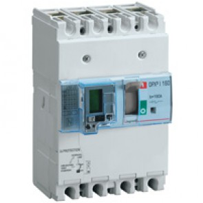 Trip-free switch - DPX³-I 160 - 4P with e.l.c.bs - 160 A