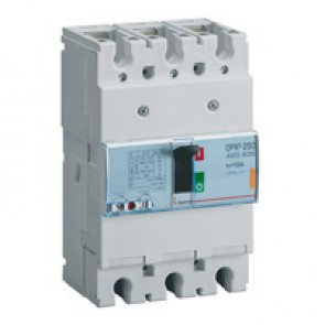 MCCB thermal magnetic - DPX³ 250 - Icu 25 kA 400 V~ - 3P - 100 A