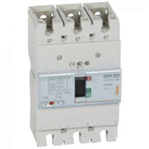 MCCB thermal magnetic - DPX³ 250 - Icu 25 kA 400 V~ - 3P - 250 A