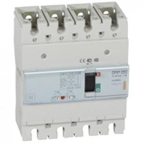 MCCB thermal magnetic - DPX³ 250 - Icu 25 kA 400 V~ - 4P - 250 A