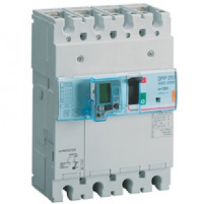 MCCB thermal magnetic with e.l.c.bs - DPX³ 250 - Icu 25 kA 400 V~ - 4P - 100 A