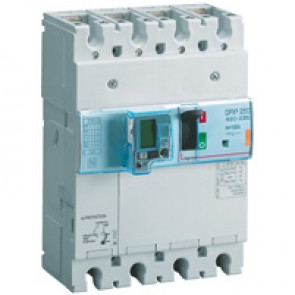 MCCB thermal magnetic - DPX³ 250 - Icu 36 kA 400 V~ - 3P - 100 A