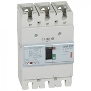 MCCB thermal magnetic - DPX³ 250 - Icu 36 kA 400 V~ - 3P - 160 A