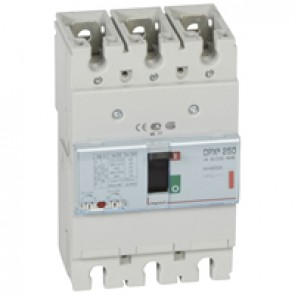 MCCB thermal magnetic - DPX³ 250 - Icu 36 kA 400 V~ - 3P - 200 A