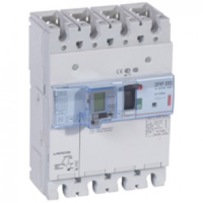 MCCB thermal magnetic with e.l.c.bs - DPX³ 250 - Icu 36 kA 400 V~ - 4P - 100 A
