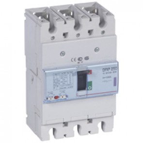 MCCB thermal magnetic - DPX³ 250 - Icu 50 kA 400 V~ - 3P - 100 A