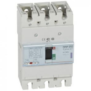 MCCB thermal magnetic - DPX³ 250 - Icu 50 kA 400 V~ - 3P - 160 A