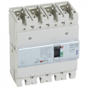 MCCB thermal magnetic - DPX³ 250 - Icu 50 kA 400 V~ - 4P - 100 A