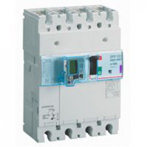 MCCB thermal magnetic with e.l.c.bs - DPX³ 250 - Icu 50 kA 400 V~ - 4P - 160 A