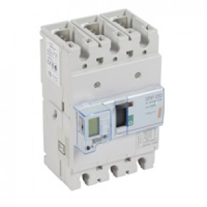 MCCB electronic release - DPX³ 250 - Icu 25 kA 400 V~ - 3P - 100 A