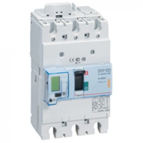 MCCB electronic release - DPX³ 250 - Icu 25 kA 400 V~ - 3P - 250 A