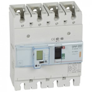 MCCB electronic release - DPX³ 250 - Icu 25 kA 400 V~ - 4P - 160 A