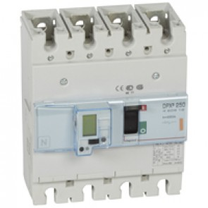 MCCB electronic release - DPX³ 250 - Icu 25 kA 400 V~ - 4P - 250 A