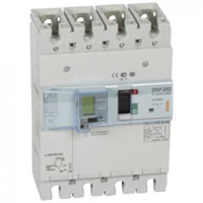 MCCB electronic release + e.l.c.bs - DPX³ 250 - Icu 25 kA 400 V~ - 4P - 250 A